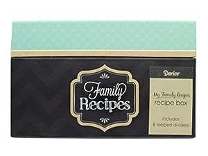 My Family Recipes Recipe Card Box