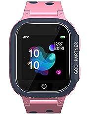 OVBBESS Klocka för barn-IP67 vattentät smartklocka telefon med SOS samtal telefon för barn pojkar flickor ålder 3-12