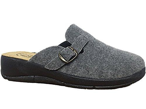 Footwear Relax Max Foster Donna Grigio Clog 8xAwEdwq1