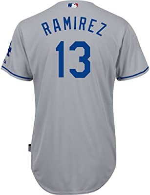 Amazon.com   Los Angeles Dodgers Authentic Hanley Ramirez Road Cool ... 55f34fa3200