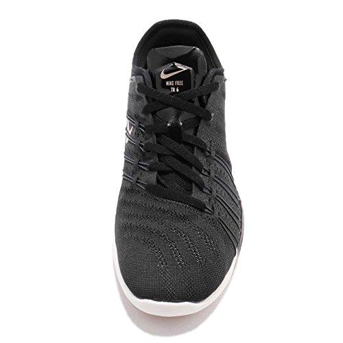 Dame Nike Free Tr 6 Løbesko Sort / Mtlc Rød Bronze / Topmøde Hvid Tvqx3Ru7Y2