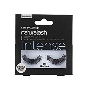 Salon System Naturalash Double 206 Blue/Black Intense