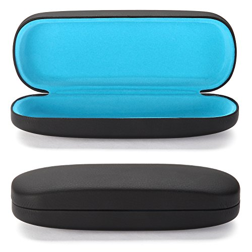 - ALTEC VISION Glasses Case - Fits Small Medium Sunglasses - Black/Blue