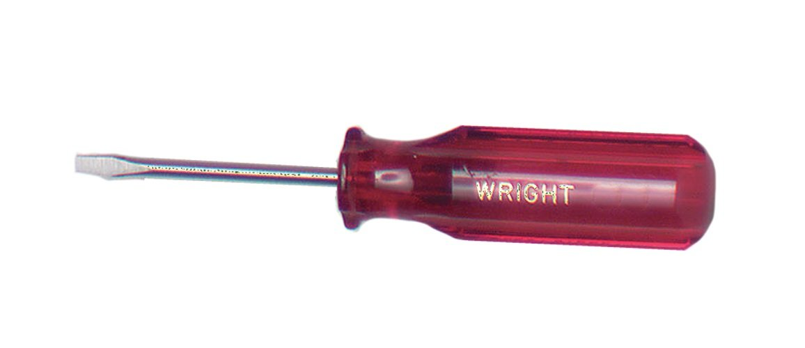 Wright Tool 9113 1 8 Tip Size Cabinet Tip Screwdriver 8 Length