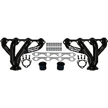 "NEW SOUTHWEST SPEED BLACK BLOCK HUGGER SHORTY STYLE HEADERS FOR SMALL BLOCK FORD 260-351 WINDSOR & GT40P V8 ENGINES, 1 5/8"" TUBES, STREET ROD, HOT ROD, RAT ROD, NOSTALGIA, VINTAGE"