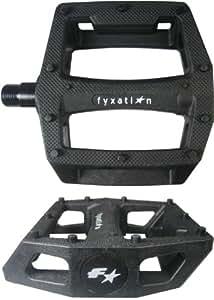Fyxation Gates BMX Platform Pedal, Black