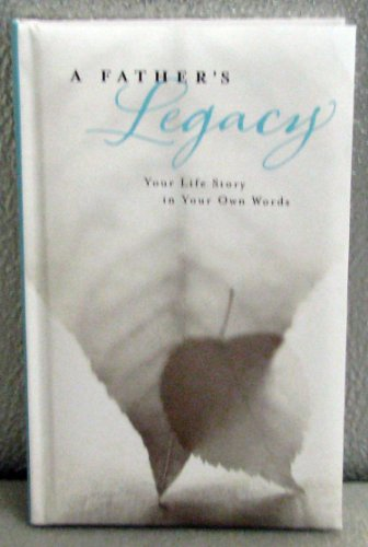 Hallmark Books BOK4358 A Father's Legacy ~ Your Life Story in Your Own Words