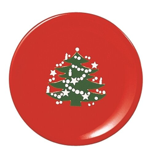 Waechtersbach Christmas Tree Dinner Plate, Set of 2
