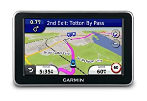 Garmin Nuvi Lt   Inch Bluetooth Portable Gps Navigator With Maps Of North America Europe And Lifetime Traffic Discontinued By Manufacturer