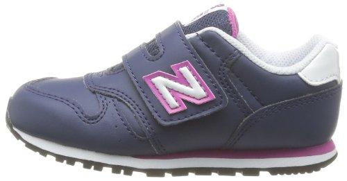 New Balance NBKV500BAP, Chaussures Premiers Pas pour Bébé (Garçon) - Gris - Grey/Pink, 30 EU