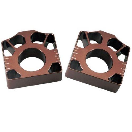 Pro Circuit 04-16 Kawasaki KX250F Axle Blocks (Brown) ()