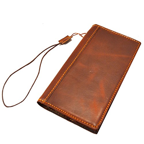 Artech 21 iPhone 6 Leather Case -- Texas Series Argentina Cowhide Genuine Leather Wallet Case Cover for iPhone 6 4.7 inches (NOT for huge 5.5  inches) , Retro Book Stylee , Wallet Case with Id Slots,Cash Pocket (Dark Vintage Brown for iPhone 6 (4.7 Inches ))