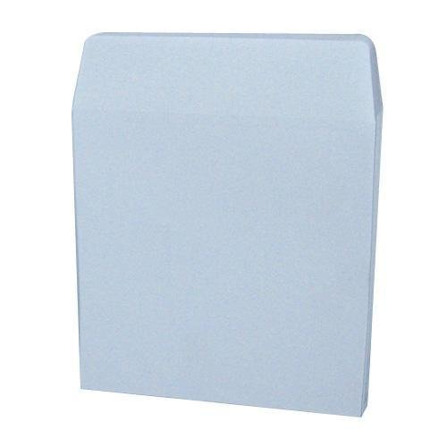 CD DVD White Paper Sleeves 85 Gram No Window 100 Pack