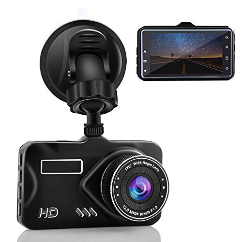 CHICOM 3″ Dash Cam Full HD 1080P, 170 Degree Wide Angle LCD Dashboard Camera Car Video Recorder with Night Vision, G-Sensor, WDR, Loop Recording, Motion Detection, Parking Monitor Review