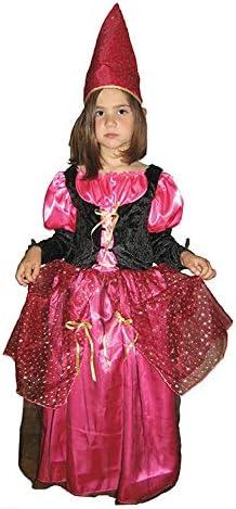 el carnaval Disfraz Hada Fucsia niña Infantil Talla de 8 a 10 años ...