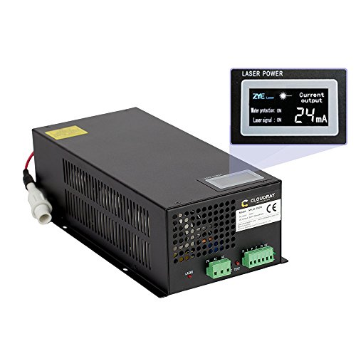 Cloudray 150W CO2 Laser Power Supply 110V for CO2 Laser Engraver Cutter MYJG-150 LED