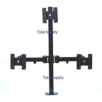 Amazon Com Tyke Supply Pyramid Triple Monitor Stand 2