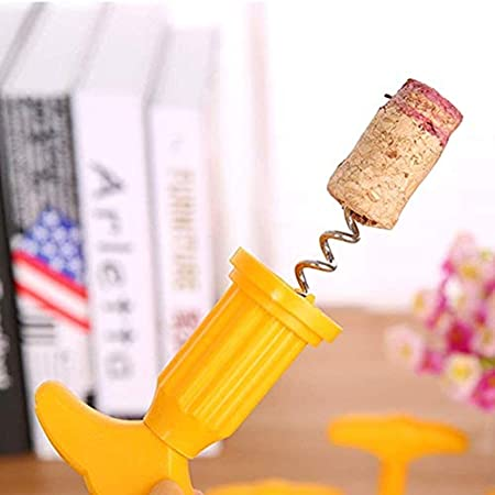 N\A Abrelatas del Vino, Vino Tinto Botella de Cerveza abridor ala sacacorchos abrelatas del Vino con tapón del Vino por Todos los vinos, Prosecco (Color : -, Size : -)
