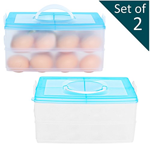 Stacking Storage Containers Handle Kitchen