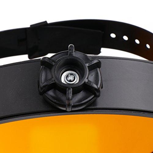 Baosity Welding Masks Protective Face Shields Welding Hood Helmets with Transparent Polycarbonate Visor, Size 12.6'' X 8.6'' - Clear