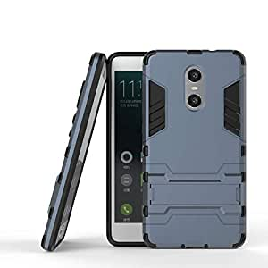 Xiaomi Redmi Pro -Shockproof Kickstand TPU Hybrid Back Case Cover -Dark Blue