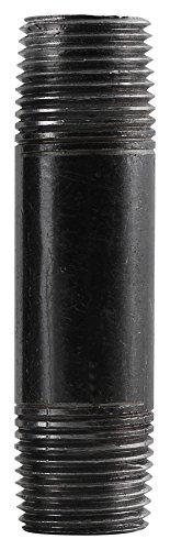 5 Black Steel Nipple - Southland 584-050HN Steel Nipples, 3/4