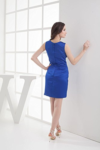 Bridal_Mall - Vestido - Sin mangas - para mujer Rosso