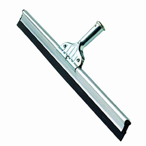 Ettore 55018 Aluminum Heavy Duty Floor Squeegee, Straight, 18'' Width (Pack of 6) by Ettore