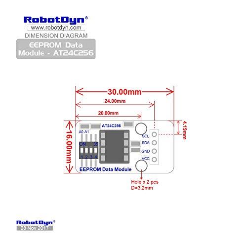 RobotDyn - EEPROM Data storage memory Module - AT24C256  Installed