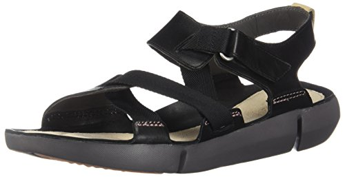 Clarks Tri Clover Women's Black nubuck Shoes PPaRqwBr