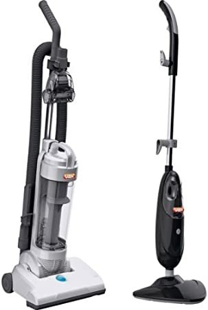 Maxi Vax Bagless Upright Vacuum Cleaner and Steam Mop with