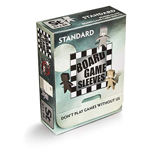 Arcane Tinman Board Game Sleeves: Standard (Non-Glare) 63x88mm, Clear