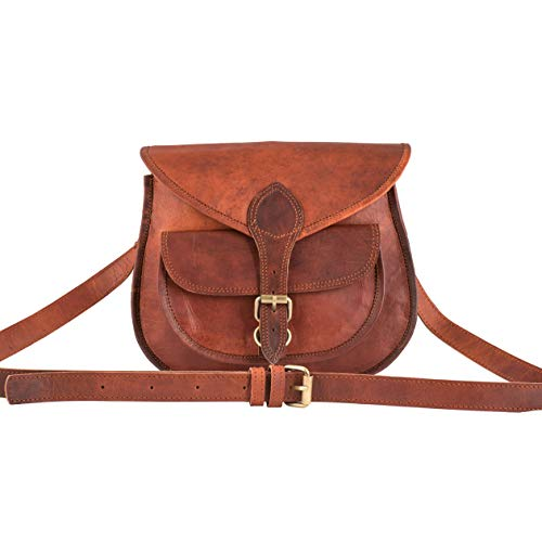 Leather Vintage Cross Body...