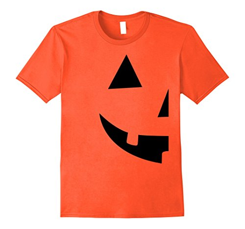 [Mens Jack O Lantern T-shirt Jackolantern Couple Halloween Costume 2XL Orange] (Cool Couple Costumes)