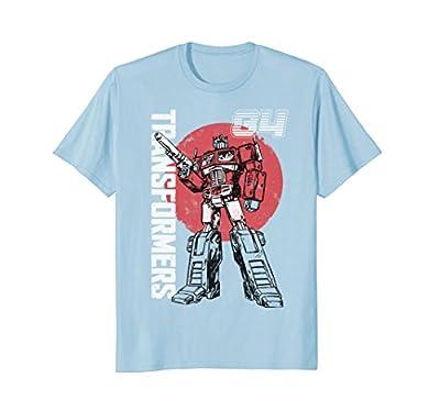 Transformers Optimus Prime Retro Design T-Shirt