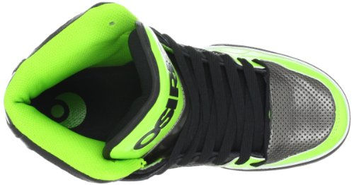 Osiris 602376, Scarpe da skateboard Uomo Schwarz/Gunmetal