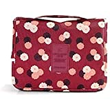 Portable Hanging Toiletry Kit Clear Wash Travel Bag Women Organizer Pouch With Hook