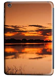 iPad Mini Case and Cover -Sunset Reflection PC case Cover for iPad Mini