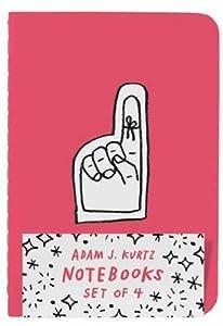 Adam J. Kurtz Notebooks (Set of 4)