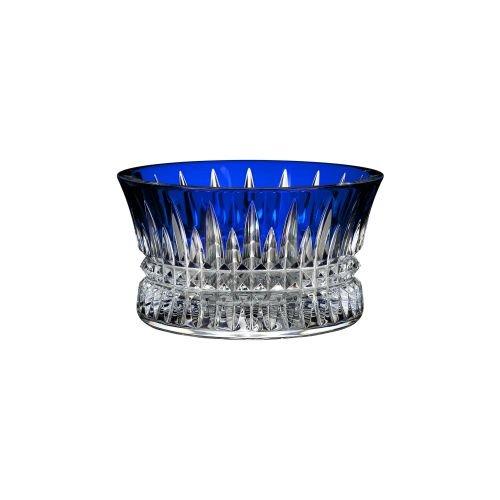 Waterford Lismore Diamond Nut Bowl- Cobalt