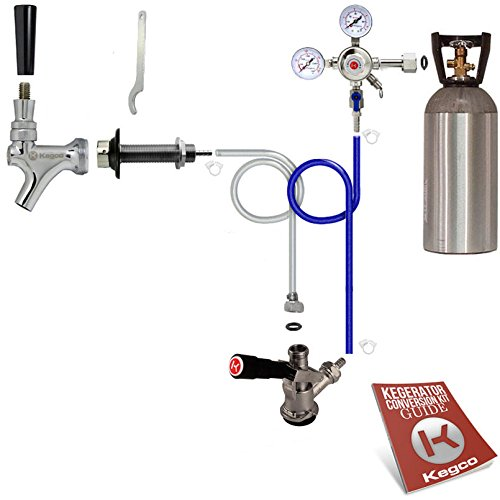 Kegco Standard Door Mount Kegerator Conversion Kit with 10 lb. Co2 Tank - SCK-10T