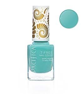 Amazon.com : PACIFICA Turquoise Tiara Nail Polish, 0.4 FZ