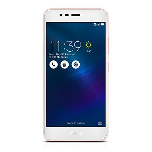 ASUS ZenFone 3 MAX ZC520TL Smartphone, 5.2-inch, 16GB (Glacier Silver)