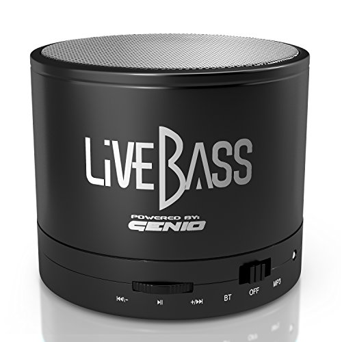 LiveBass Portable Wireless Bluetooth Speaker