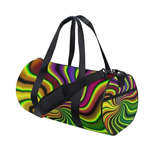 OuLian Duffel Bags Amazing Hippie Womens Gym Yoga Bag Small 7b2348704dfed