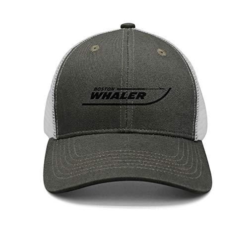 - kseerbaball Fashion Cap Adjustable Boston-Whaler-Logo-Black- Army-Green Designer Trucker Hat