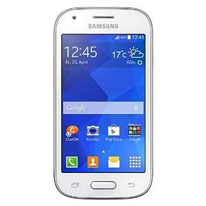 "Samsung Galaxy Ace Style - Smartphone libre Android (pantalla 4"", cámara 5 Mp, 4 GB, Dual-Core 1.2 GHz, 512 MB RAM), blanco [importado]"