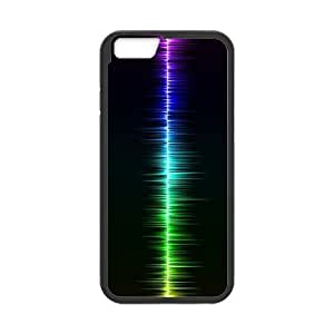 High Quality Specially Designed Skin cover Case sound wave iPhone 6s 4.7 Inch Cell Phone Case Black