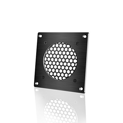 - AC Infinity Ventilation Grille 1, for PC Computer AV Electronic Cabinets, also includes hardware to mount one 80mm Fan