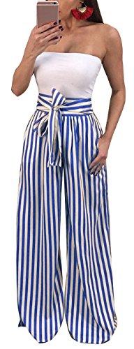 Linen Striped Drawstring Pants - 3